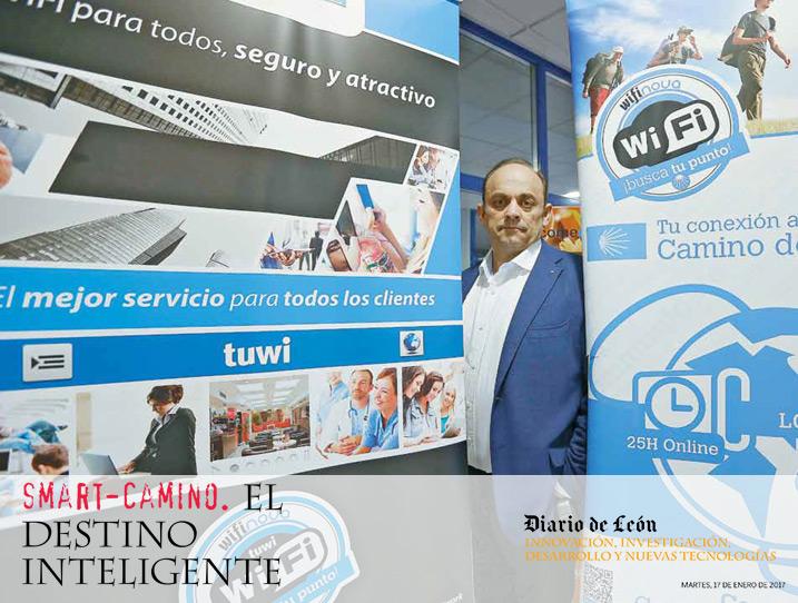 Smart El Camino (17 de enero - Diario de León)